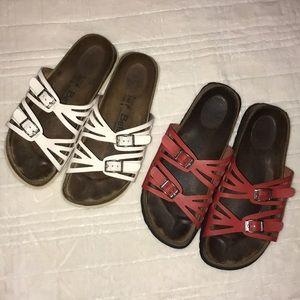 "BIRKENSTOCK ""Betula"" Leather Sandal Bundle 38"